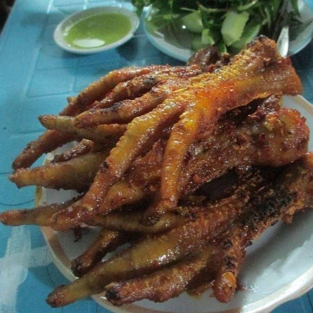 Chân gà nướng của Kim Trinh tại Ốc Tý - Thạch Lam - 2725