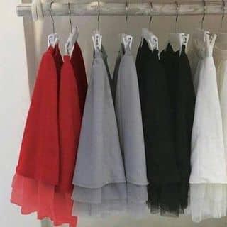 👚 chân váy xòe tùng ren 💲đen trắng xám đỏ 💰210k của tuongquan1 tại Ninh Thuận - 2576694
