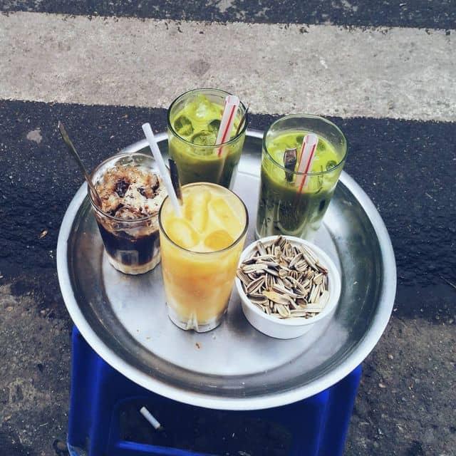 Chanh leo + trà thái + nâu nhiều sữa của Kimm Anhh tại Cafe 39 Tạ Hiện - 148318
