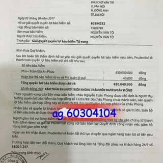 chi trả quyền lợi bảo hiểm của roanyang tại Quảng Ninh - 3554790