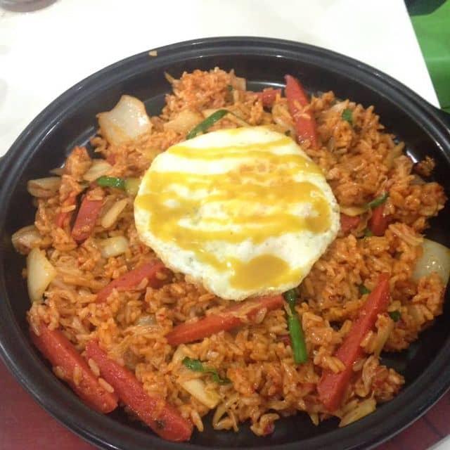 Cơm chiên kim chi của Linh Baymax tại Hanuri Korean Fast Food - Nguyễn Đình Chiểu - 39590