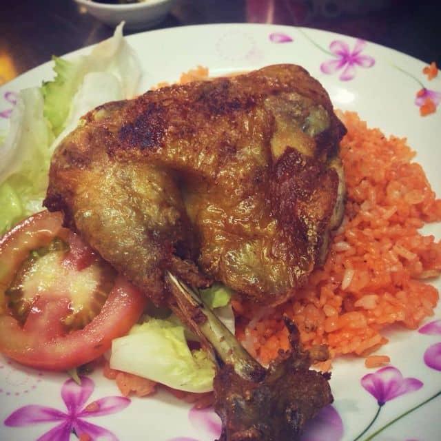 Cơm gà xối mỡ của 💪🏽 Trung Ng 💪🏽 tại Nam Sơn - 3224