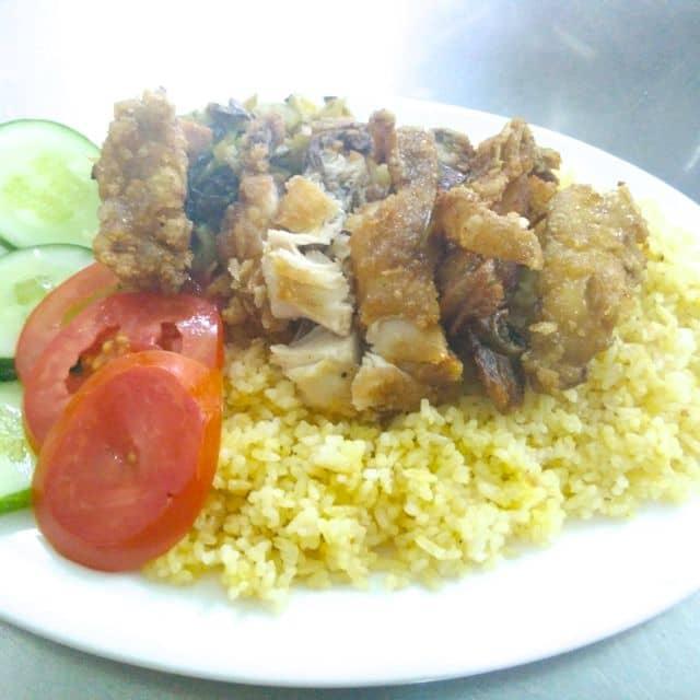 Cơm gà xối mỡ của Vinh Nnpv tại Cơm gà xối mỡ Cây Trăm - 8367