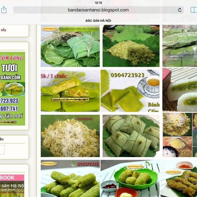 Cốm làng vòng (0904723923) - 0904723923, 28 Trần Thái Tông, Quận Cầu Giấy, Hà Nội