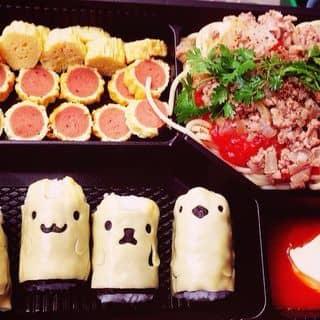 Combo cơm cuộn, mì ý, trứng nhân xúc xích 😋 của py.piscesss tại 01227948836, Thừa Thiên Huế - 386213