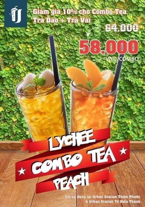 Combo lychee n peach tea - 2702671 hole - Julia189 shop - Shop online, Quận Tân Phú, Hồ Chí Minh
