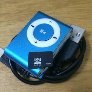 COMBO MÁY NGHE NHẠC MP3 (xanh dương) + THẺ NHỚ 4GB + CÁP SẠC ĐA NĂNG 10 ĐẦU của cucan0610 tại 9 Đông Hưng Thuận 2, Đông Hưng Thuận, Quận 12, Hồ Chí Minh - 577912