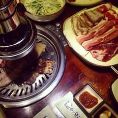 1 đĩa đầy ú ụ cho 2ng gọi combo 165k/1ng  Rẻ mà tẩm ướp rất ngon miệng  Ăn nướng chỉ thích gogi thuiii sốt siêu ngon ❤️  #thatthemthuong