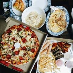 Meet lover, Pizza, Lasagna, Bánh mì bơ tỏi và Carbonara Spaghettiiiii