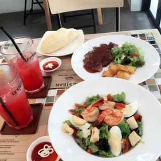 Combo steak & salad. của ngan.ngannn tại Hẻm 24 Đường D5, Phường 25, Quận Bình Thạnh, Hồ Chí Minh - 770784