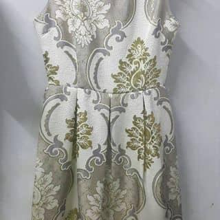 Đầm gấm hoạ tiết hoa của tuanh1406 tại 140 Trường Sa, Quận Phú Nhuận, Hồ Chí Minh - 3433276