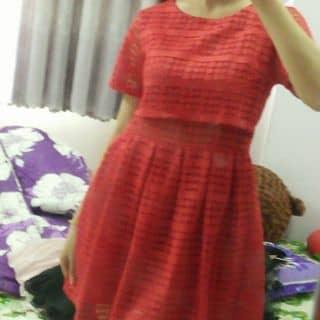 Đầm ren đỏ của mssyuu tại Hồ Chí Minh - 3244554