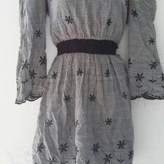 Đầm sơ mi form suông buộc eo 🎀 2 màu : Trắng - Đen của rubytram2 tại Bà Rịa - Vũng Tàu - 984205