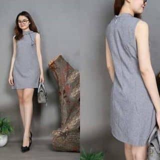 Đầm suông cổ phối nơ.  của nguyenthihang38 tại Hồ Chí Minh - 3084250