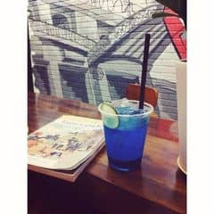 Deep blue soda của Giàu Vũ tại Urban Station Coffee Takeaway - 745 CMT8 - 9499