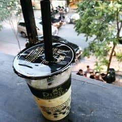 Dingtea matcha green milk tea + chocolate mik tea & Mochi trà xanh + scl đắng của Oanh Soo tại Ding Tea - Nguyễn Du - 477378