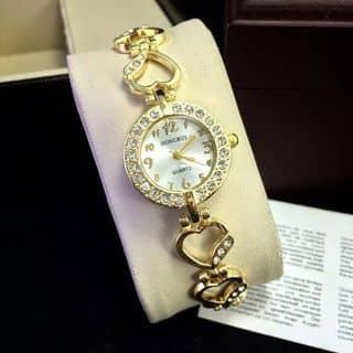 đồng hồ lắc tim mạ vàng của cauba4 tại Hậu Giang - 1016804