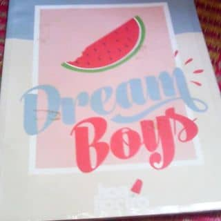 Dream boys. Sách thần tượng của sachcugiare4 tại Shop online, Quận Tân Phú, Hồ Chí Minh - 2936267