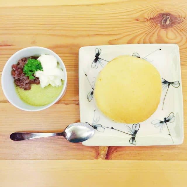 Flan trà xanh - Dorayaki của Long Trương tại Hinomoto Matsuri  - 99899