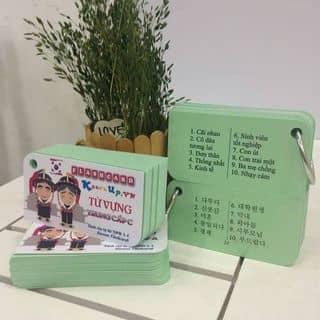 Flashcard học từ vựng cực rẻ của ngocbinh21 tại Bắc Ninh - 3208976