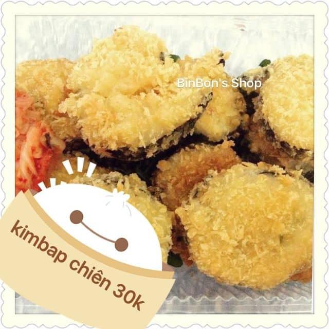 FreeShip Phú Nhuận -Kimbap chiên của BinBon's Shop tại BinBon's Shop - 255350