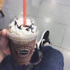 Freeze socola của Thuỳ Giang tại Highlands Coffee - Xuân Thuỷ - 810081
