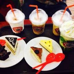 Freeze trà xanh+mocha+hot chocolate của Chuột Pucca tại Highlands Coffee - Megastar Hà Nội - 204763