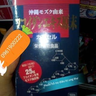 Fucoidan thuốc  hỗ trợ  điều trị ung thư của muahemua tại 191 Nguyễn Thị Duệ, Thanh Bình, Thành Phố Hải Dương, Hải Dương - 1406985
