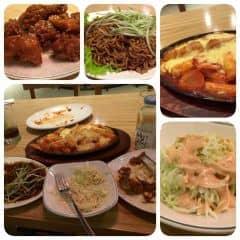 Gà cay phô mai+ tok cay phô mai + mì ramen  của Phương Ly Đào tại Papa's Chicken & Pizza - 252070