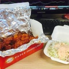 Gà giòn cay + krusher của Hà My tại Papa's Chicken & Pizza - 316758