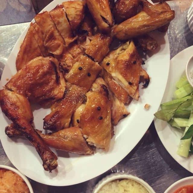 gà nướng sốt chanh dây của Hùng Chí Trịnh tại Gà nướng Ò Ó O  - 112186