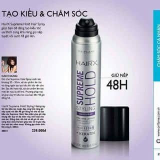Gel  HairX Supreme Hold Hairston Spray của nguyenvananh127 tại Bắc Ninh - 1449077