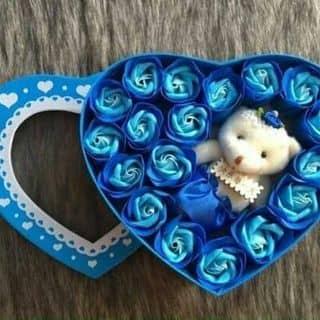 Hoa hồq sáp kèm gấu  của vishop tại Sóc Trăng - 3522683