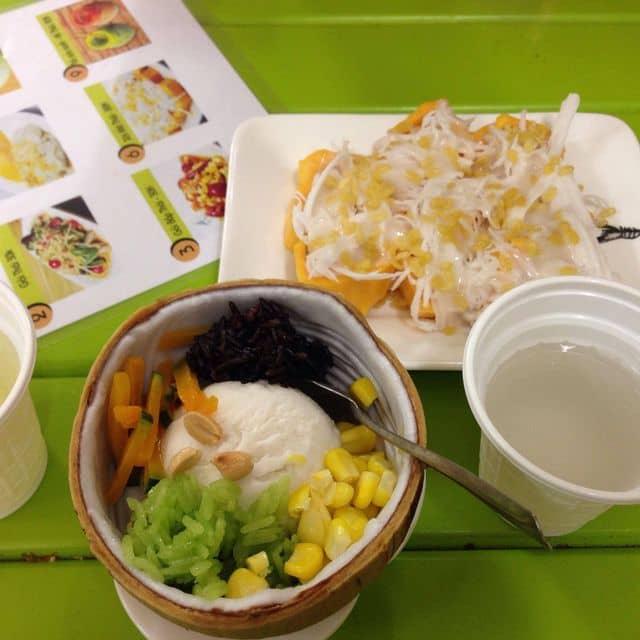 Kem dừa; xôi mít; trà xanh của Dánh Dánh tại Coco5 - Nguyễn Tri Phương - 47145