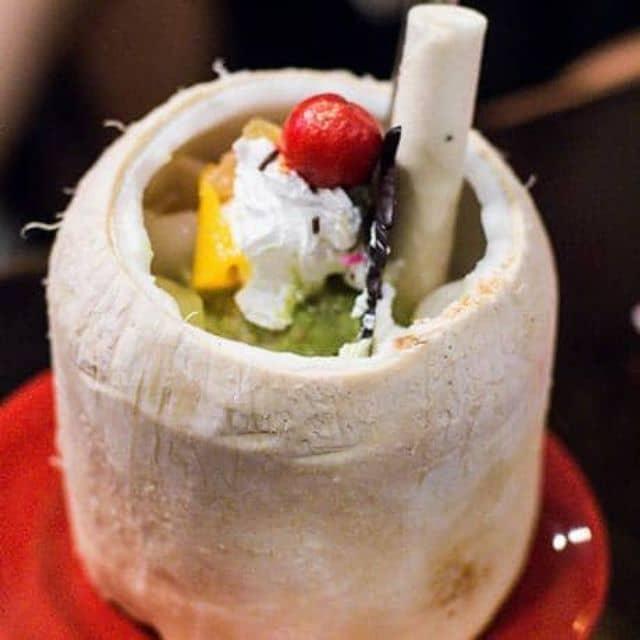 Kem trái dừa của Thanh biz tại Ăn Vặt Hồ Con Rùa - 12425