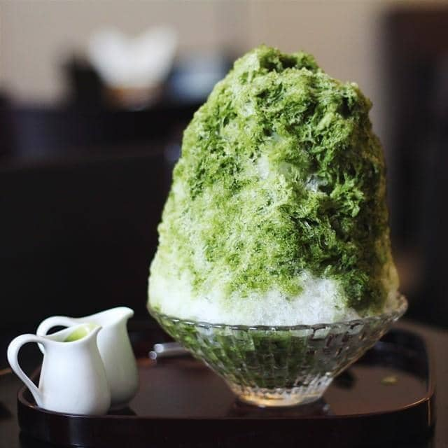 Kem tuyết trà xanh của Mun tại Fly To The Moon - Shaved Ice - Đặng Dung - 54317