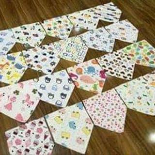 Khăn tam giác có khuy bấm lẻ chỉ 25k 2c 100k 10c nhé khách của tathang4 tại Bắc Ninh - 1443678
