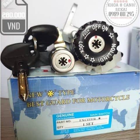 Khóa 8 Cạnh Sekai Dành Cho Xe Yamaha Exciter 2009-2010 - 6437325  Khoa8canhsekai -