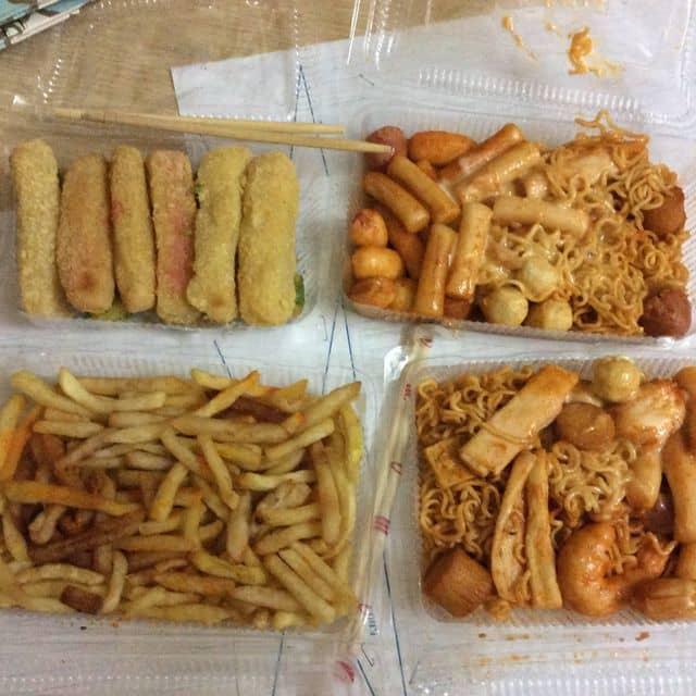 Khoai tây chiên + mì tok + phô mai que  của Dạ Dạ tại KiKi Shop - 144199