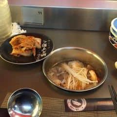 Có thẻ g-people nên đi dịp sn giảm 15%. Cái này hợp vs ai ăn nhiều thịt bò như mình và thích ăn nấm. Tuy nhiên nước lẩu ko ngon lắm :( #happykichi