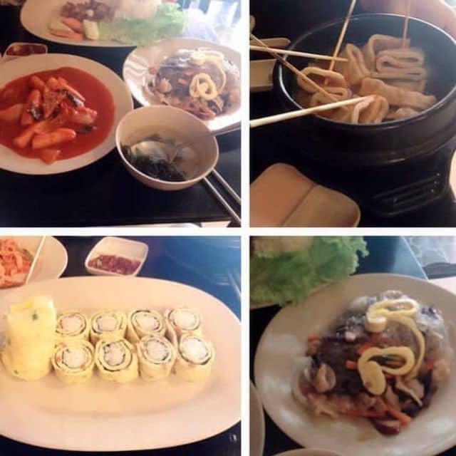 Kim bap + tokboki + miến trộn + soup của Vy Vyy tại Kimbap FC - Điện Biên Phủ - 93381