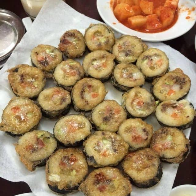 Kimbap chiên của Hiền Trần tại Go Cung - Traditional Korean Restaurant - 117744