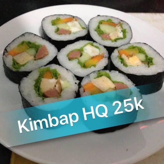 Kimbap hàn quốc ( kimbap cuộn trứng or kimbap chiên)  của BinBon's Shop tại Phạm Thanh Hải - 246424