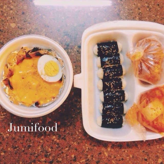 Kimbap xiên thịt nướng của Mimi Pinky tại Jumi Food - Cách Mạng Tháng 8 - 159948