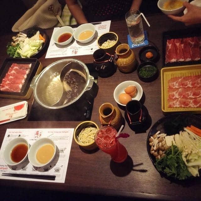 Lẩu của Đức  Phạm Thế tại Momo Paradise - Buffet Lẩu Nhật - 48635