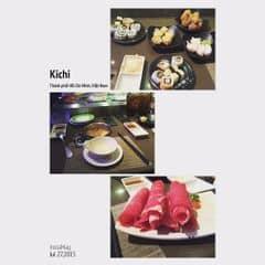 #happykichi - Buffet mà giá rẻ rề, đồ ăn lên liên tục 😂. Nước lẩu HK ngon xỉu luôn, ngọt xương, lạt lạt dễ ăn ko bị gắt cổ. Thịt bò bao la, tràn trề ăn quài ăn mãi vẫn ko ai nói giề =)))). Rút kinh nghiệm từ bản thân đừng lấy sushi nhiều, lấy vài cái ăn cho biết thôi, ngán lắm luôn. Nhân viên nhiệt tình, ko gian bình thường nếu ko muốn nói là nhỏ.