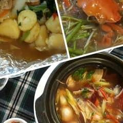 Lẩu cua đất mũi, đậu hũ hải sản nướng, nghêu hấp thái của Trang Nguyen tại Lẩu cua Đất Mũi  - 424504