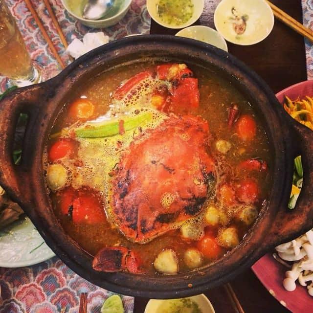 Lẩu cua đồng của Loan Nguyễn tại Gạo Restaurant - 33 Lê Quý Đôn - 176421