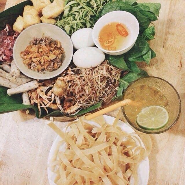 Lẩu cua đồng bắp bò của Hạnh Hồ tại Ngõ 8 - Trà Chanh & Lẩu Riêu Cua Đồng - 12414