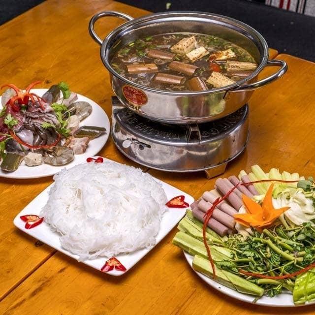 Lẩu cua đồng hải sản của Thủy Võ tại Chu's Coffee - Trần Kế Xương - 402166